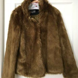 Nasty Gal Faux Fur Jacket